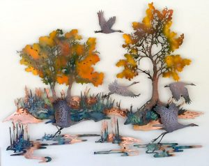 Three Dimensional Wall Art - The Whisper Of Wings